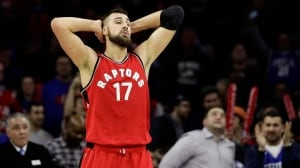 Raptors' 14-game winning streak against 76ers snapped in costly loss