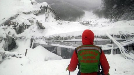 Avalanche destroys Italian hotel, 3 bodies found and over 2 dozen missing
