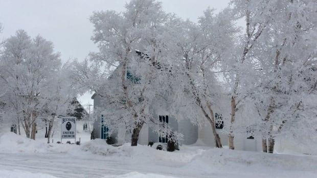Frost in Buchans