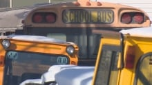 School Bus on Kelloway Investments property
