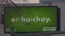 Erbachay sign in Saskatchewan