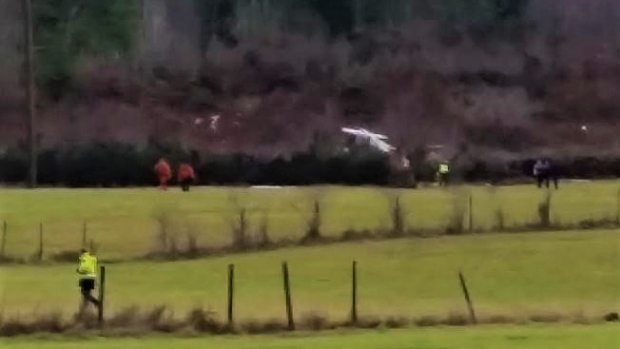 A plane crash in Duncan, B.C., last January left both of the aircraft's occupants injured, one seriously.