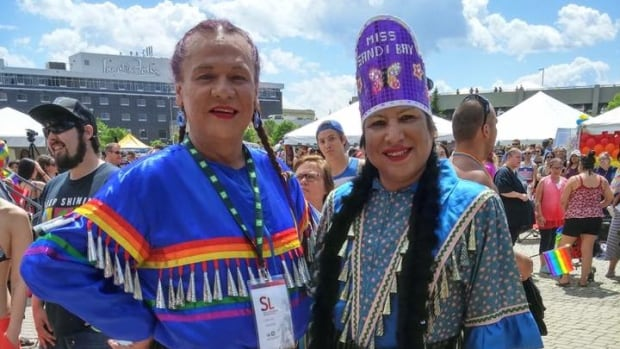 Kelly Houle and Ryan Richard helped make the first two-spirit powwow at the Pride Winnipeg Festival a reality.