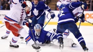 Michael Grabner leads way as Rangers cool off Leafs