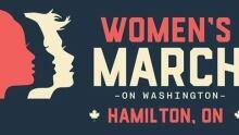 Women's March on Washinton, Hamilton solidarity march