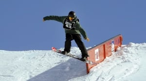 Max Parrot leads Canadian slopestyle sweep in Laax