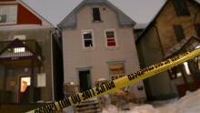 Sherbrook Street incident, Winnipeg police identification unit on scene