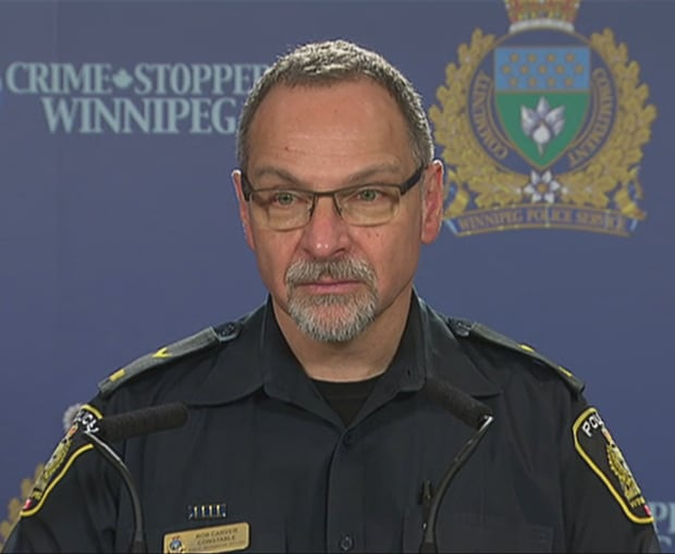 Winnipeg police service Const. Rob Carver