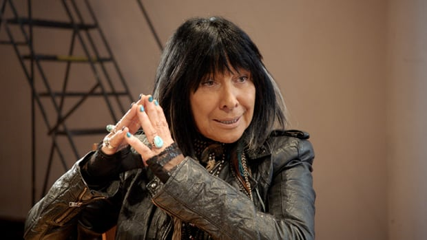 Buffy Sainte-Marie is one of the musicians featured in the documentary, Rumble: The Indians Who Rocked the World.