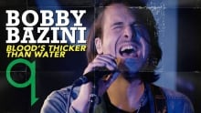 Bobby Bazini - Blood's Thicker Than Water (LIVE)