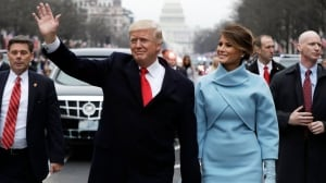 Trump vows to end 'American carnage' after being sworn in as 45th U.S. president