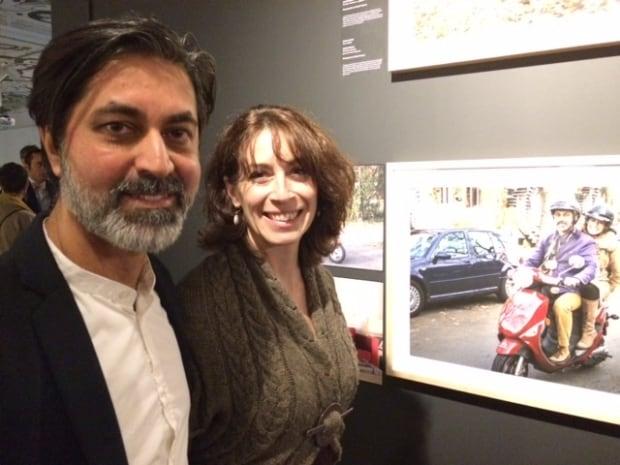 Zabi Enâyat-Zâda and Carolyne Jannard