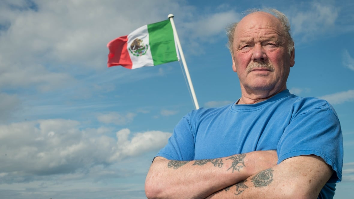 Frustrated neighbours of Trump's Scottish golf course fight back with Mexican flags