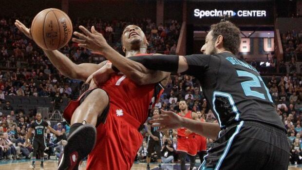 APTOPIX Raptors Hornets Basketball
