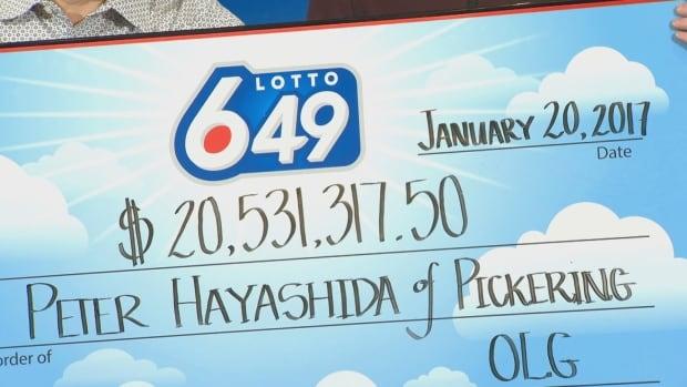 Pickering lotto winner