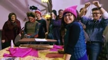 Women march against Trump presidency
