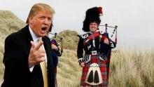 Trump's Scotland Wall