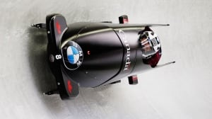 World Cup bobsleigh from St. Moritz