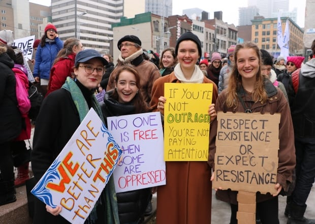 montreal women march 6