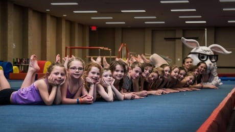 'There was a lot of emotions': Displaced by flames, Fort St. John gymnasts get new home
