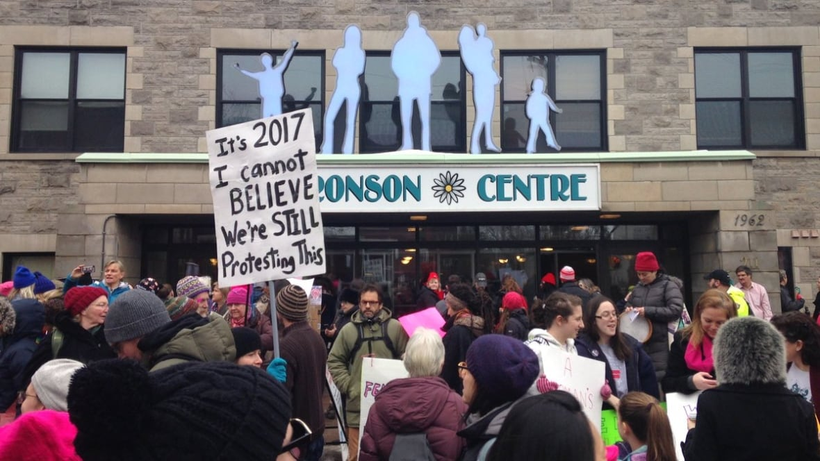 Faces in the crowd: thousands join Women's March in Ottawa
