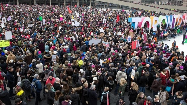 Organisers estimated that around 60,000 people came out for the Saturday march.