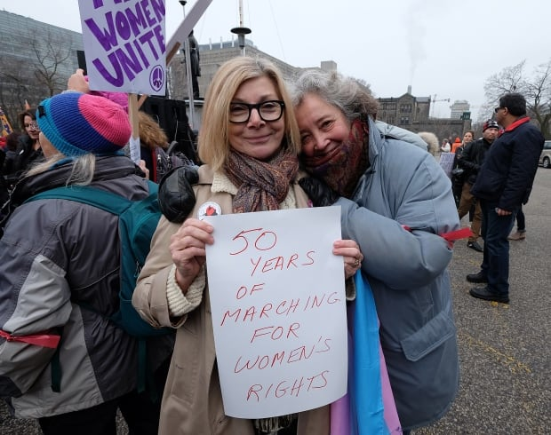 Toronto Women's March Cheri DiNovo