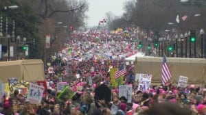 Women's marches across the U.S. and Canada
