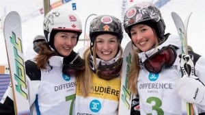 The Dufour-Lapointe sisters have made mogul skiing a family affair