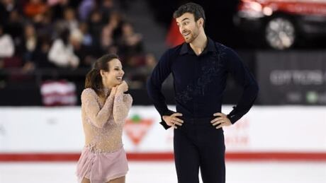 Meagan Duhamel and Eric Radford win record 6th national pairs title