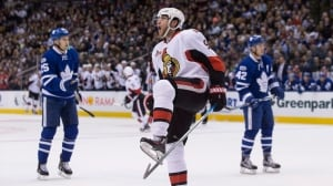 Senators topple Maple Leafs in SO to win latest 'Battle of Ontario'