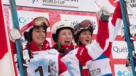 Canadians sweep podiums in 2 different sports