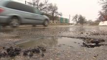 Potholes Winnipeg