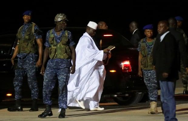 GAMBIA-POLITICS/EXILE