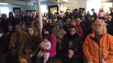 Heritage Gurdwara Abbotsford anti-hate rally