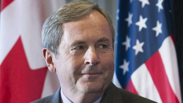 David MacNaughton, Canada's ambassador to the U.S., was in Toronto on Tuesday to speak to the Canadian Club about NAFTA.