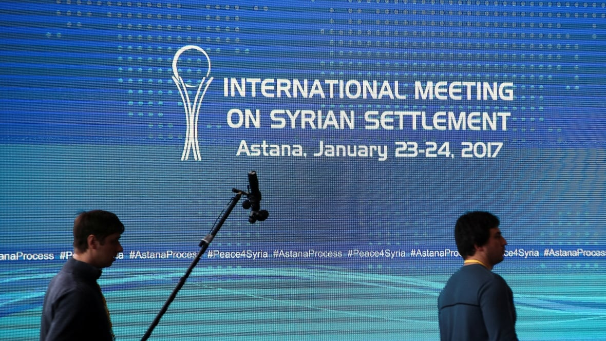 Syria government, rebel groups meet in Kazakhstan for ceasefire talks