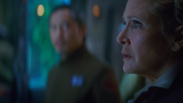 Carrie Fisher reprised her role as Princess Leia, now known as General Organa, in Star Wars: The Force Awakens. She had completed shooting on The Last Jedi before her death in December.