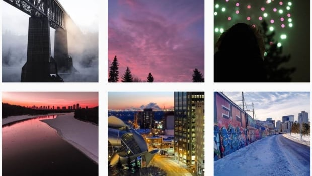 There are thousands of snapshots showcasing the beauty of Edmonton in the Yeggers page.