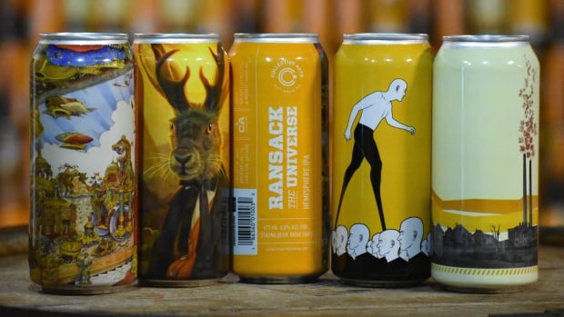 "Collective Arts Brewing features over 600 international artists on its labels. Now on their eighth ""call for art,"" the brewery has received over 13,000 submissions from artists in 40 countries."