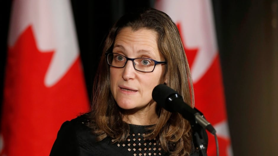 Minister of Foreign Affairs Chrystia Freeland,  one of Canada's most public defenders of Ukraine, says she's the target of a Russian 'smear campaign.'