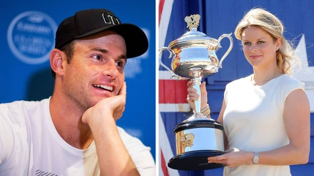 Andy Roddick, left, and Kim Clijsters headline the Tennis Hall of Fame Class of 2017.
