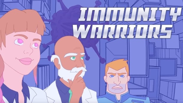 An Ottawa doctor has teamed up with Algonquin College students to tell the story of the immune system in the form of a digital comic book. It's called Immunity Warriors: Invasion of the Alien Zombies.