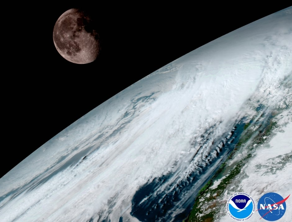 New weather satellite sends back first images