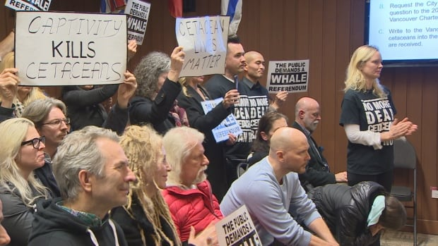 Vancouver park board whales protesters
