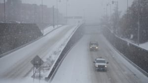 Treacherous conditions across southern Quebec after freezing rain, snow