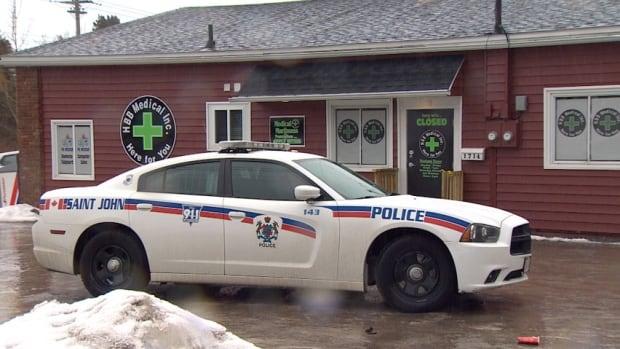 Medical marijuana dispensary raid Saint John, HBB Medical Inc.