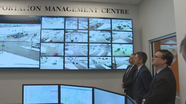 Transportation Management Centre in Winnipeg