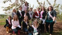 Annapolisa Leadership Competition candidates from 2016