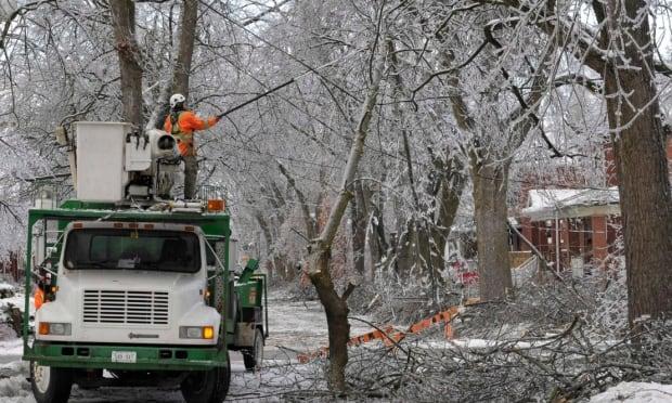ice storm nb power